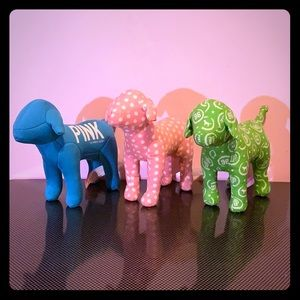 Victoria's Secret PINK collectible dogs